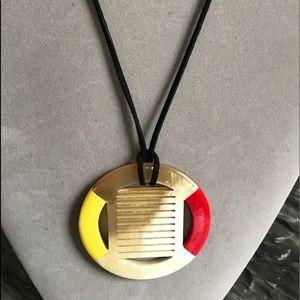 Jewelry - Hermès Style Buffalo Horn Oversized Necklace
